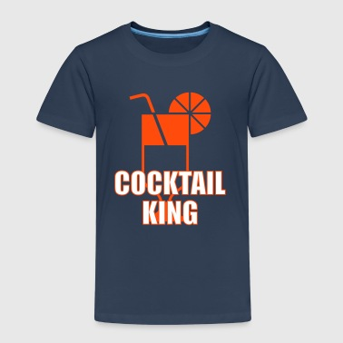 [ Cocktail King ] - Kinderen Premium T-shirt
