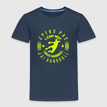 Handball Logo handball quote can not logo  - Kids' Premium T-Shirt