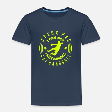 Handball handball peux pas citation can not logo  - T-shirt Premium Enfant