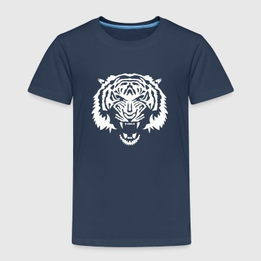 tiger wildes tier cartoontiger 5062 - Kinder Premium T-Shirt