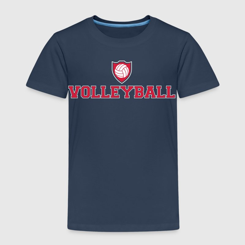 Volleyball Ecusson - T-shirt Premium Enfant