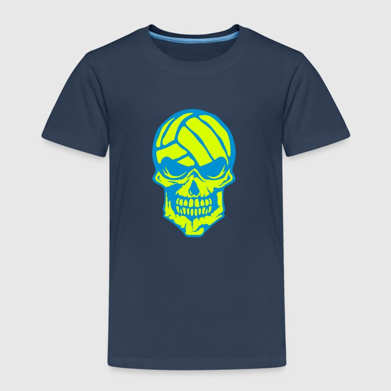 Volleyball skull water polo logo - Kids' Premium T-Shirt