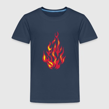 fire flame 2804) - Kids' Premium T-Shirt