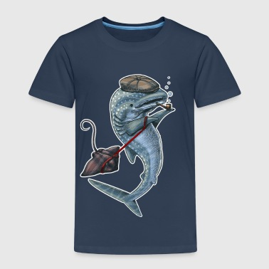 Whale Shark dark T - Kinder Premium T-Shirt