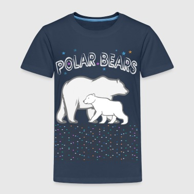 kidscontest - polar bears - Kinder Premium T-Shirt