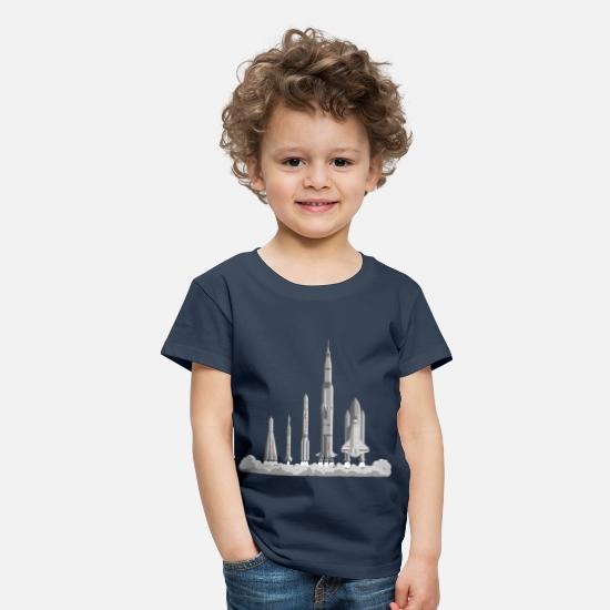 Nice T-Shirts - The Space Race - Kids' Premium T-Shirt navy
