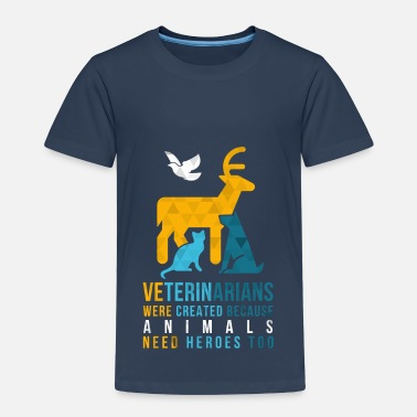 Practice Manager Animals need heroes-vet - Kids' Premium T-Shirt