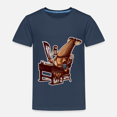 Squid Squid Writer - Kids' Premium T-Shirt