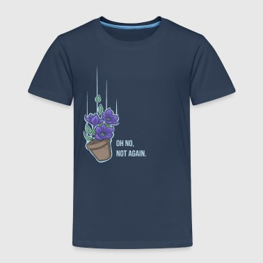 Thoughts of a falling bowl of petunias - Kids' Premium T-Shirt
