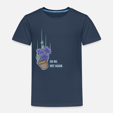 Hitchhikers Guide To The Galaxy Thoughts of a falling bowl of petunias - Kids' Premium T-Shirt