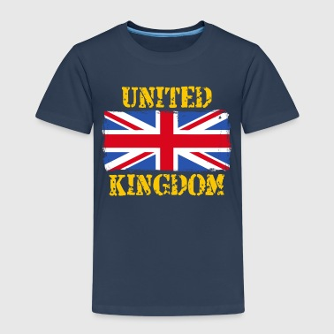 United Kingdom United Kingdom grunge flag - Kids' Premium T-Shirt