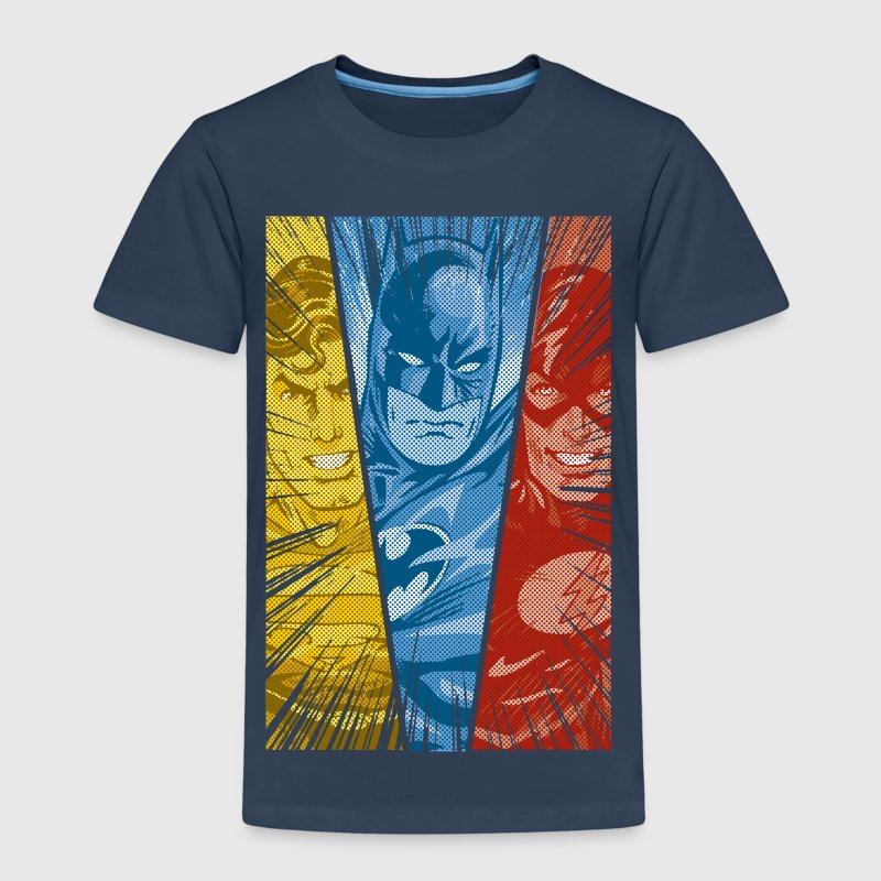 DC Comics Justice League Superman Batman Flash - Kinderen Premium T-shirt