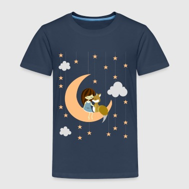 moon fox - Kinder Premium T-Shirt