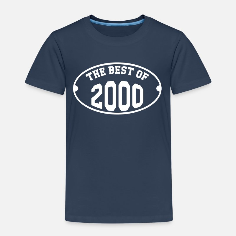 2000 T-Shirts - The Best of 2000 - Kids' Premium T-Shirt navy