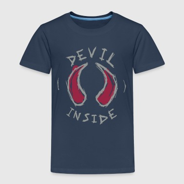 devil inside - T-shirt Premium Enfant