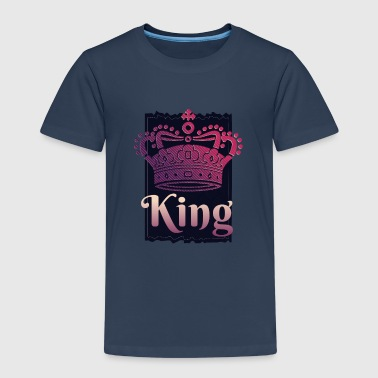 COOL KING y QUEEN CORONA - Camiseta premium niño