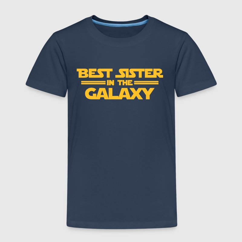 Best Sister in the Galaxy - Premium T-skjorte for barn