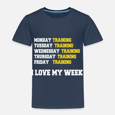 Musclor I love my week - T-shirt Premium Enfant