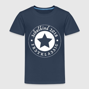 Schulkind 2018 - Kinder Premium T-Shirt