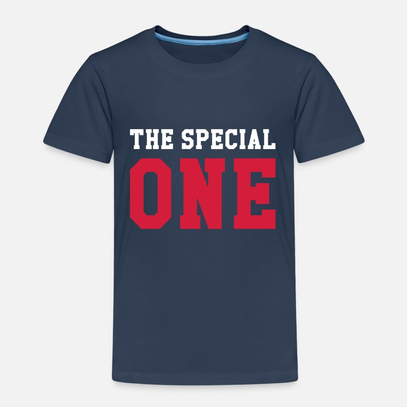 Baby T-Shirts - The Special One - Kinderen premium T-shirt navy