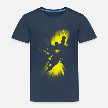 Superman 'Shadow' Men T-Shirt - Kinderen Premium T-shirt