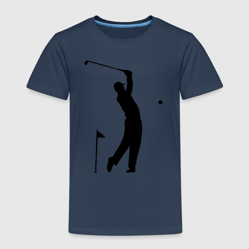 Golf - Sportler Motiv Hole in One - Kinder Premium T-Shirt
