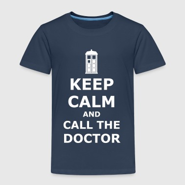 Keep calm and call the doctor - Kids' Premium T-Shirt