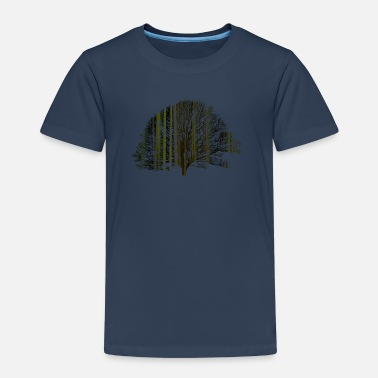 The tree and the earth - Kids' Premium T-Shirt