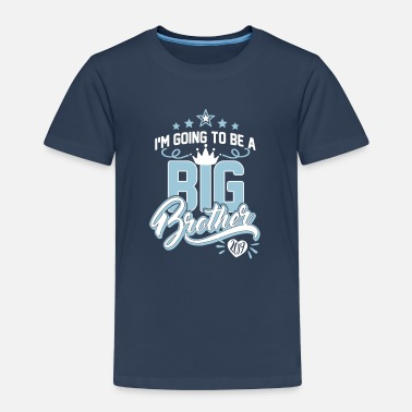 Big Big Brother 2019 - graviditet-baby-bröder och systrar - Premium-T-shirt barn