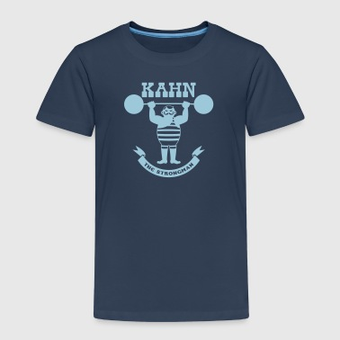 Kahn the Strongman - Kinder Premium T-Shirt