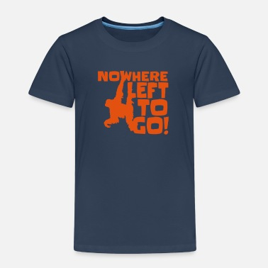 Orangutan Orangutan 'Nowhere Left to Go' Kid's T-Shirt - Kids' Premium T-Shirt