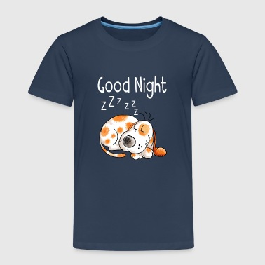 Good Night little dog - dogs - cartoon - gift - Kids' Premium T-Shirt