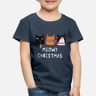 Meowy Christmas Cats - T-shirt premium Enfant