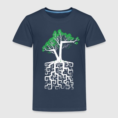 Square Root - T-shirt Premium Enfant