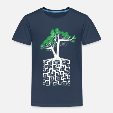 Ordinateur Square Root - T-shirt Premium Enfant