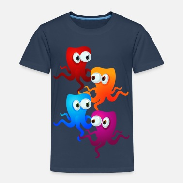 Octopus Party - Kids' Premium T-Shirt