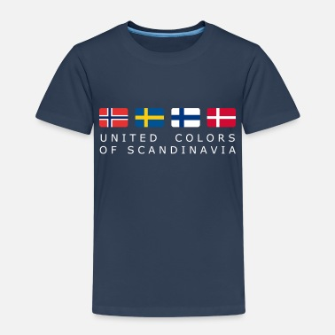 United Colours Of Scandinavia UNITED COLORS OF SCANDINAVIA white-lettered - Kids' Premium T-Shirt