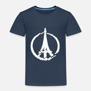 Fred For Paris Fred Paris Eiffeltårnet Babyskjorter - Premium T-skjorte for barn
