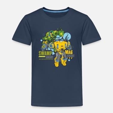 The Deep Swamp Knight And Mag Knight - Premium T-shirt til børn