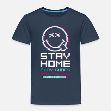 SmileyWorld Stay Home Play Games - Kids' Premium T-Shirt