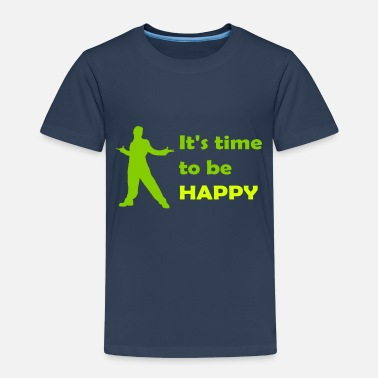 It's time to be happy Man - Maglietta premium per bambini