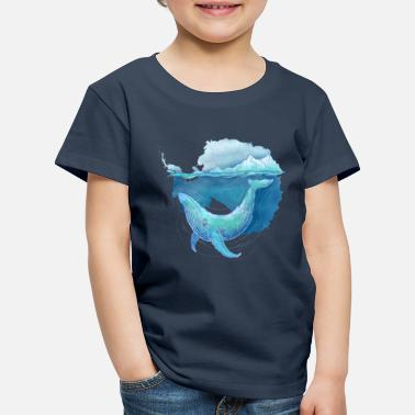 Nature Whale Sanctuary - Kids' Premium T-Shirt
