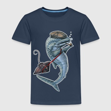 Whale Shark dark T - T-shirt Premium Enfant