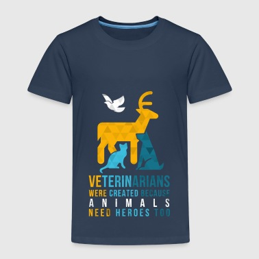 Animals need heroes-vet - Kids' Premium T-Shirt