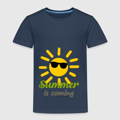 SummerIsComing - Kinder Premium T-Shirt