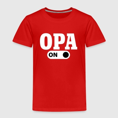 Opa on - Kids' Premium T-Shirt