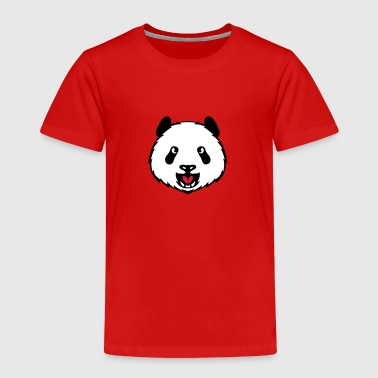 panda tete animal sauvage 3105 - T-shirt Premium Enfant