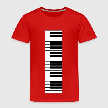 piano, piano keyboard - Kids' Premium T-Shirt