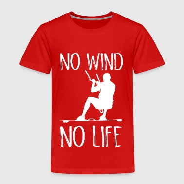 No Wind No Life Kite Kiteboarder Kiteboarder - Kids' Premium T-Shirt