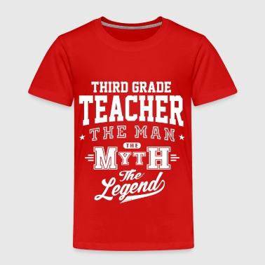 Third Grade Teacher Legend - Kids' Premium T-Shirt